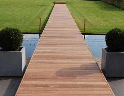 Houten terras be u de referentie voor uw houten terras